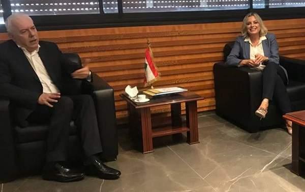 كلودين عون التقت القاضي عبود وبحثت معه تنفيذ خطة العمل لتطبيق قرار مجلس الأمن حول المرأة والسلام والأمن