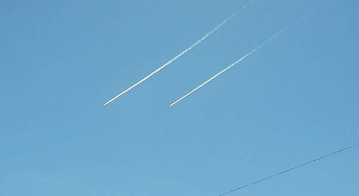النشرة: طائراتان اسرائيليتان خرقتا الأجواء اللبنانية من فوق مزارع شبعا