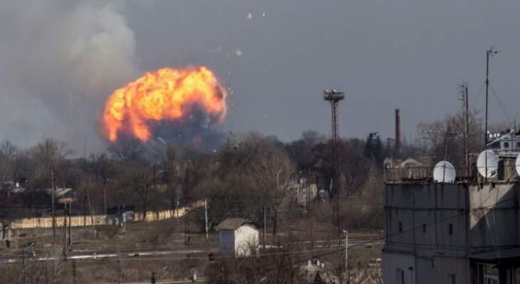 معارك جديدة في الدونباس شرقي أوكرانيا بعد انتهاء الانتخابات الرئاسية