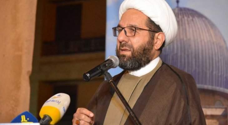 دعموش: حماية الفئات الشعبية وذوي الدخل المحدود أولويتنا في حزب الله