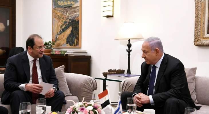 """نتانياهو بحث مع كامل بآليات منع """"حماس"""" من تعزيز قدراتها العسكرية"""