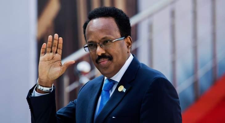 رئيس الصومال وقع رسميا على قانون يمدد فترته الرئاسية لمدة عامين