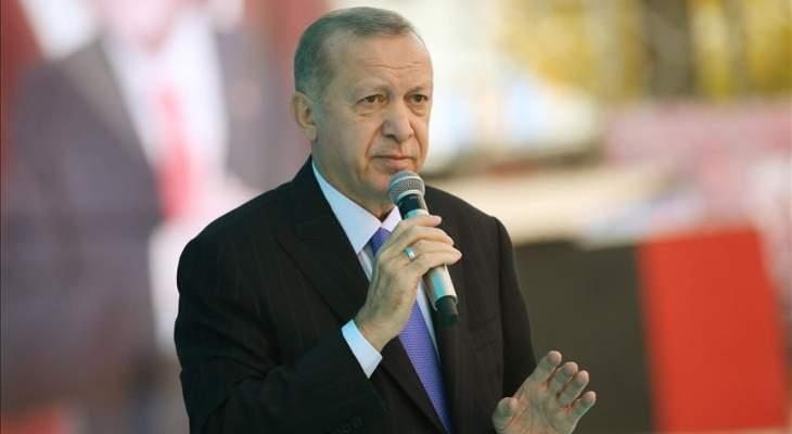 اردوغان: كل إساءة لنبينا تستهدف المسلمين جميعا وسنبني منازل جديدة للمتضررين من زلزال إزمير