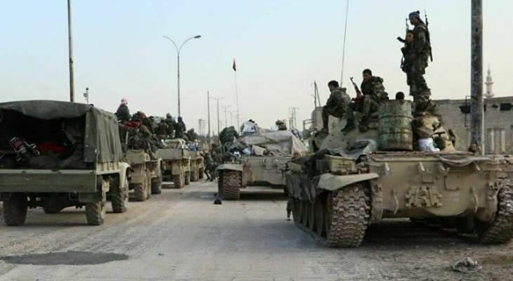 المرصد السوري: قوات النظام السوري استقدمت تعزيزات عسكرية جديدة إلى ريف درعا الغربي
