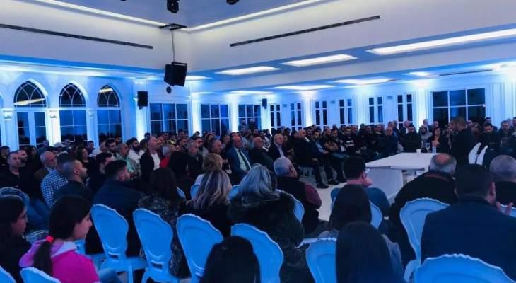لقاء حواري للمردة بالبترون حول الأوضاع الراهنة ومؤشرات الحكومة وتداعياتها