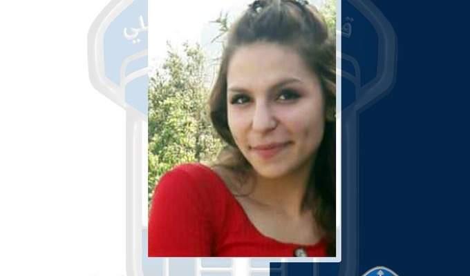 قوى الأمن عممت صورة مفقودة غادرت منزلها في الحارة البرانية بالتبانة ولم تعد