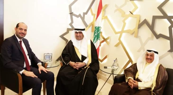 مراد بحث مع وزير التجارة الكويتي سبل تفعيل وتحسين الصادرات بين البلدين