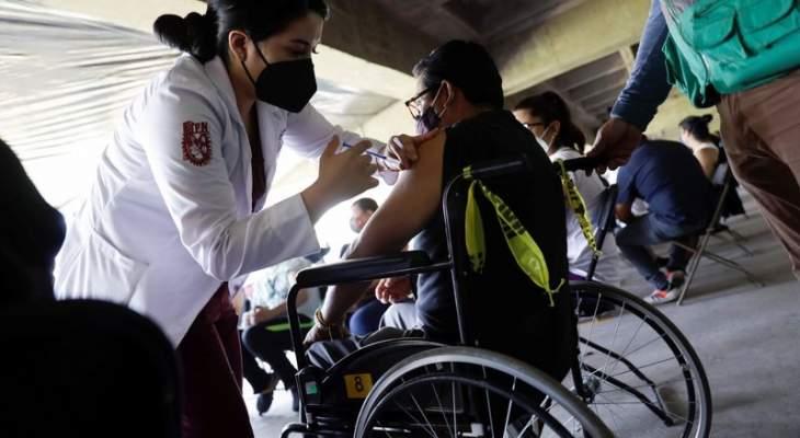 الصحة المكسيكية: تسجل أكبر قفزة يومية في إصابات كوفيد-19 منذ بداية 2021