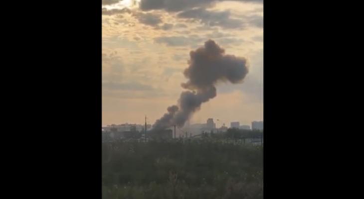 انفجار قوي يهز مصنعا في ضاحية لوبيرتسي في موسكو