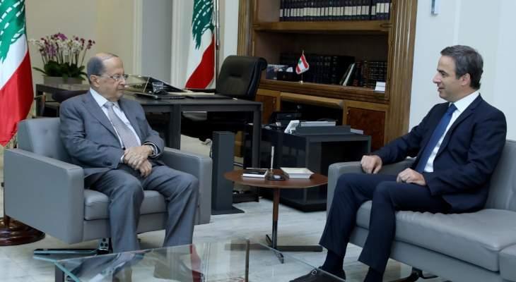 الرئيس عون: لبنان قادر على مواجهة الضغوط التي يتعرض لها من الداخل والخارج
