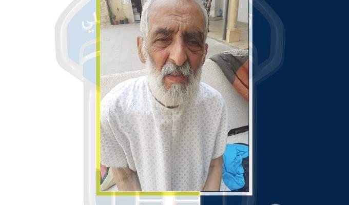 قوى الأمن عممت صورة رجل متقدم في السن مجهول الهوية عُثر عليه في بعبدا