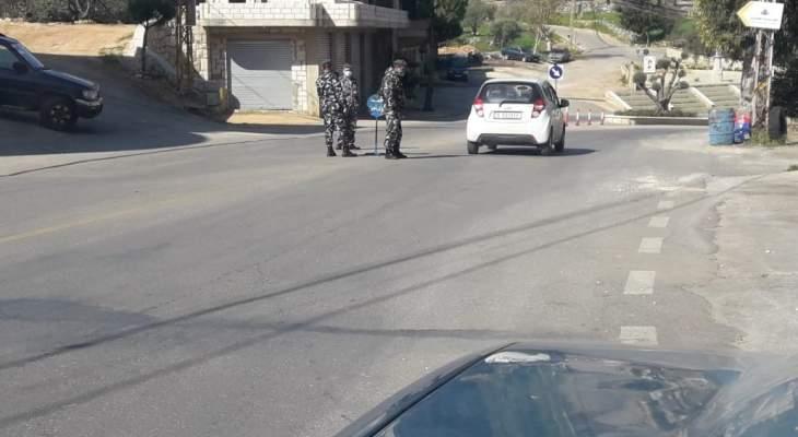 النشرة: فصيلة حاصبيا كثفت دورياتها في مختلف قرى وبلدات المنطقة