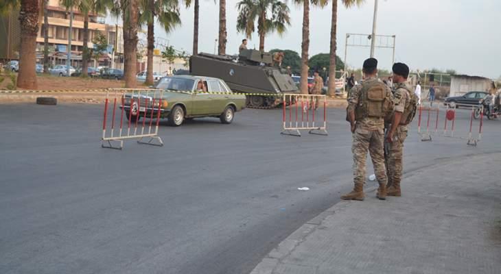 الجيش: توقيف 578 شخصاً من جنسيات مختلفة خلال شهر تموز