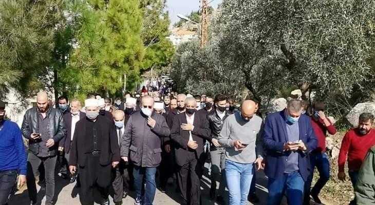 وهاب خلال افتتاح شارع محمد أبوذياب: قتلة الشهيد الى زوال وهذا وعد قطعناه على أنفسنا جميعاً