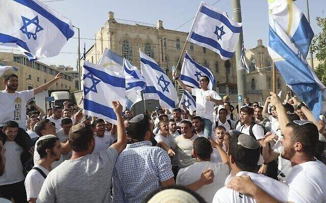 الشرطة الإسرائيلية وافقت على إجراء مسيرة الأعلام في القدس