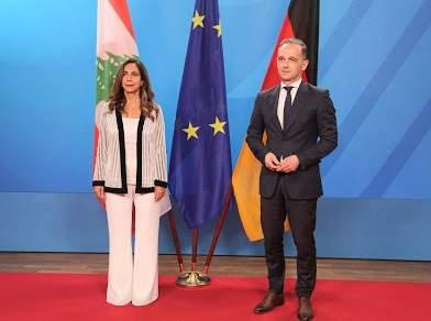 ماس التقى عكر: ألمانيا مستعدة لمساعدة لبنان في عدة مجالات بالتعاون مع الإتحاد الأوروبي