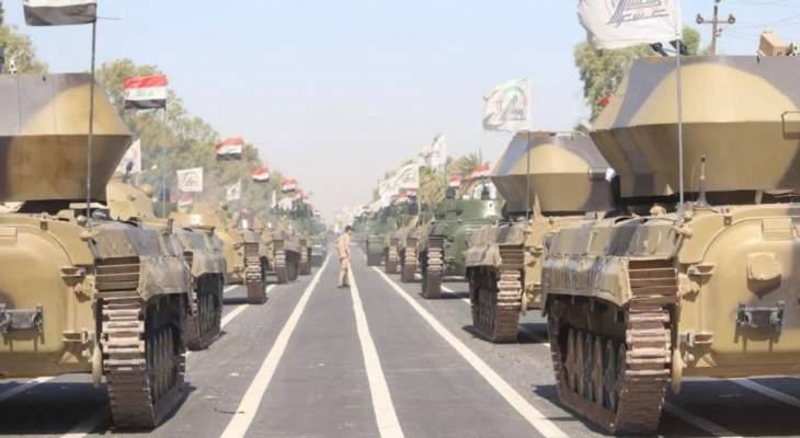 روسيا اليوم: قصف يطال 3 مركبات للحشد الشعبي على الحدود العراقية السورية