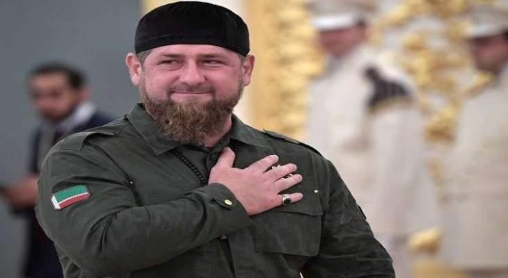 قديروف يتصدر نتائج إنتخابات الرئاسة في الشيشان