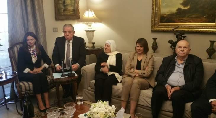 كتلة المستقبل نددت من طرابلس بالحملات ضد الحريري: العفو العام جزء من البيان الوزاري