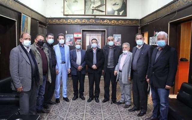 سعد اجتمع مع ممثلي فصائل التحالف الفلسطيني وبحث بالمستجدات بالبلدين