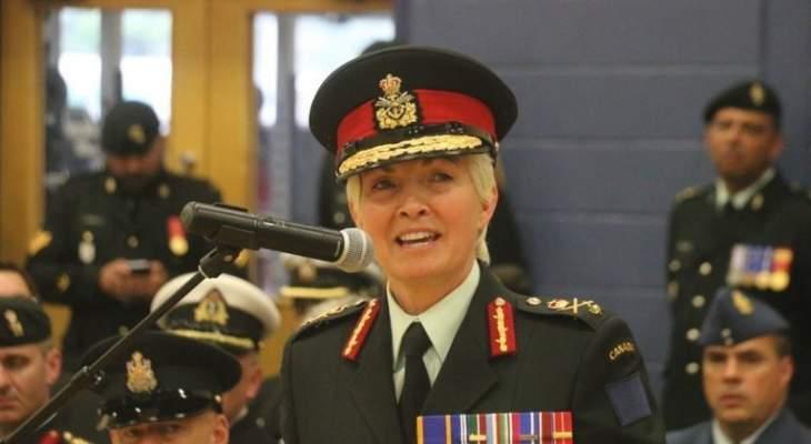 وزير الدفاع الكندي عين الجنرال جيني كارينيان قائدة لبعثة الناتو في العراق