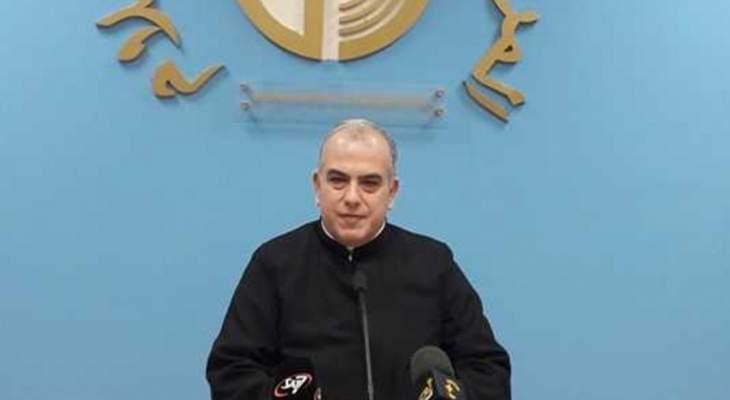 أبو كسم: الميثاق الوطني يشكل قضية أساسية كبرى بالنسبة إلينا