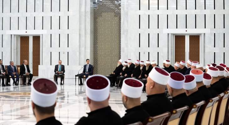 أرسلان خلال لقائه الأسد: إرادةَ المجتمع الدولي تُبقي ملف النازحين السوريين معلقا