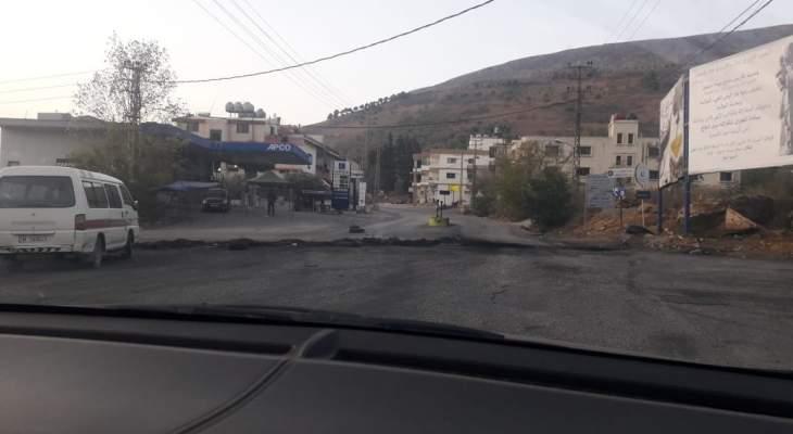 النشرة: الجيش فتح الطريق الدولية التي تربط الجنوب بالبقاع عبر مرجعيون