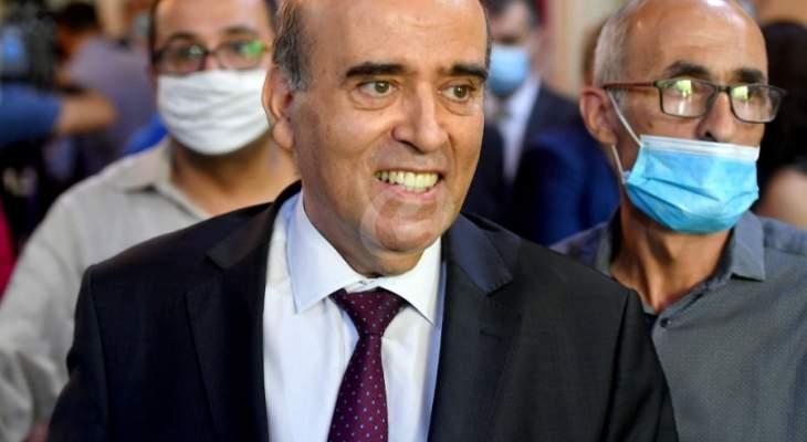 وهبه شرح لسفيرة اليونان الخطوط العريضة لمفاوضات ترسيم الحدود البحرية