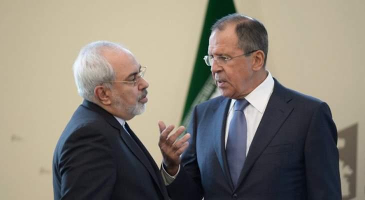 ظريف التقى لافروف: تصريحات الإدارة الأميركية الجديدة هي أقوال لا أفعال