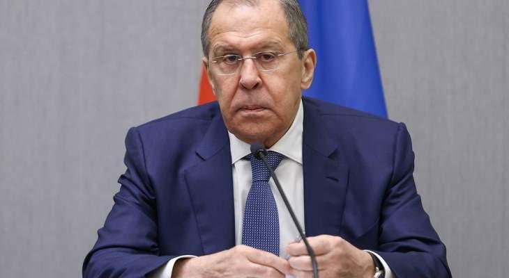 لافروف دعا راب لصياغة أجندة إيجابية للتعاون الروسي البريطاني والعودة للتواصل