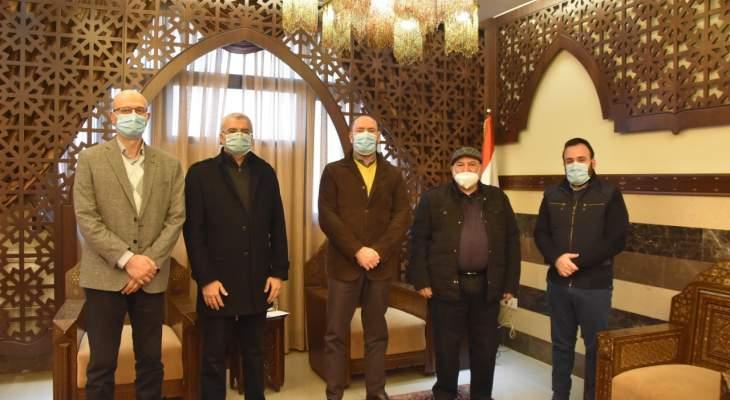 وفد الرعاية الإسلامية زار فعاليات قبيل افتتاح جناح كورونا جديد بمستشفى صيدا
