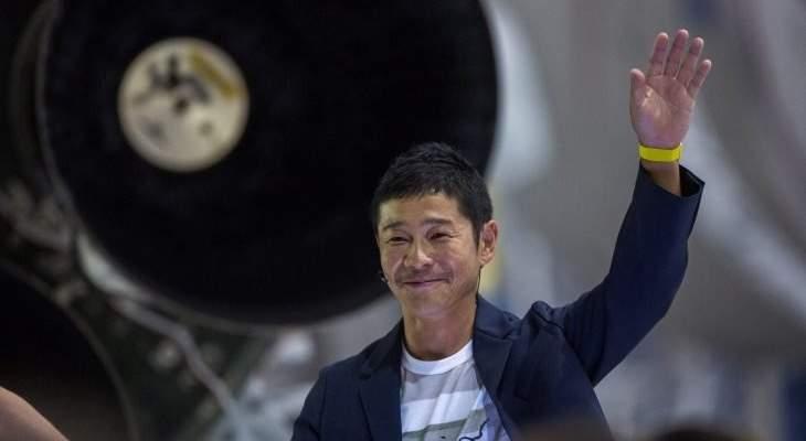 ملياردير ياباني يبحث عن مرافقين في رحلته حول القمر