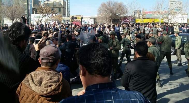 أ ف ب: تقارير عن سقوط قتيل خلال الاحتجاجات على زيادة سعر الوقود في إيران