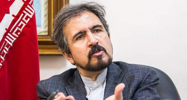 قاسمي: اتهام مسؤول ايراني لروسيا بشأن اعتداءات اسرائيل على سوريا لا يعبر عنا