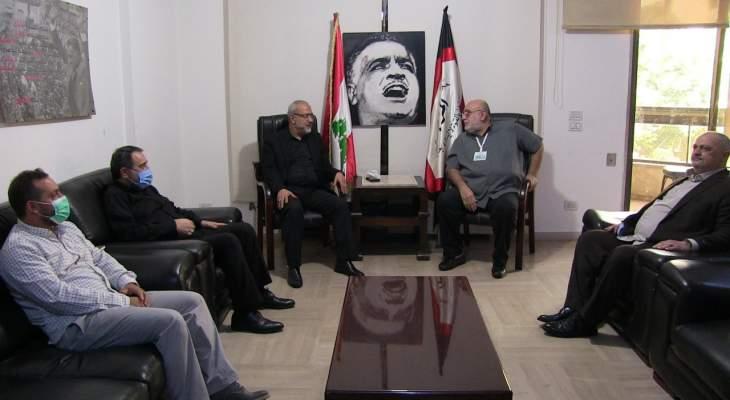 حمدان: مهمة الحكومة الأساسية اليوم هي السرعة ببناء بيروت وإعادة العمل بالمرفأ
