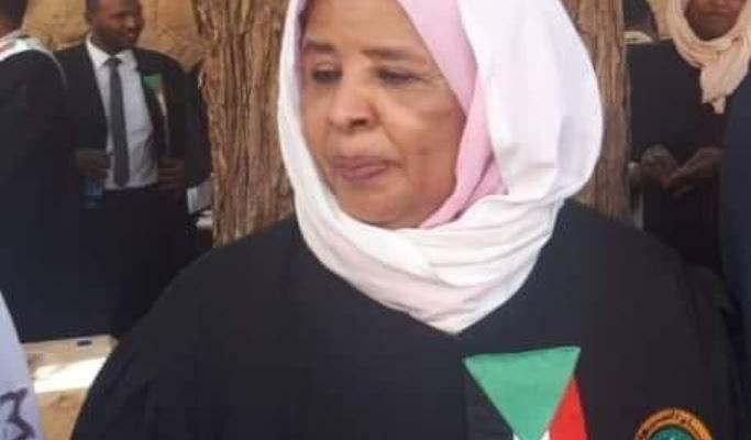 مجلس السيادة الانتقالي في السودان عيّن أول امرأة بمنصب رئيس السلطة القضائية