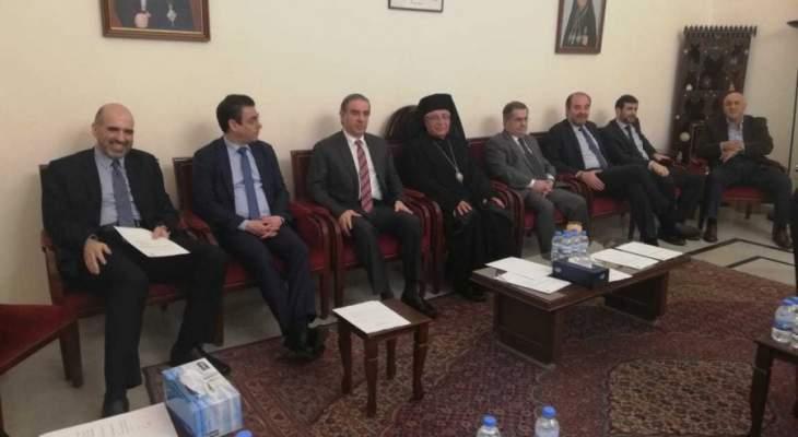 المجلس الاعلى للروم الكاثوليك يحث الحكومة على أخذ التدابير لاحتواء الأزمة الإقتصادية