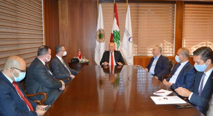السفير التركي: سنبذل جهودنا للمساهمة في تحقيق النهوض الإقتصادي للبنان