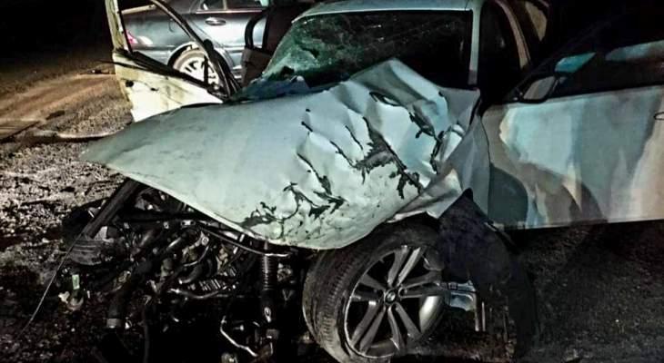 4 جرحى بحادث سير على أوتوستراد جونية