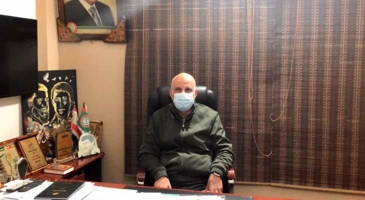 خريس: لضرورة تضافر جهود الجسم الطبي في لبنان وفي منطقة صور خاصة لمواجهة الأزمة الصحية