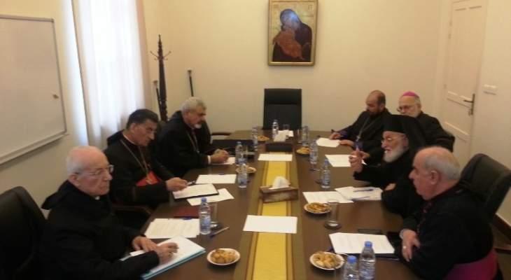 مجلس البطاركة والاساقفة الكاثوليك: لتشكيل سريع للحكومة بروح الميثاق والدستور