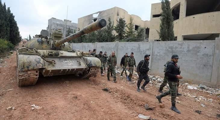 الجيش السوري يسيطر على بلدة المشرفة بريف إدلب