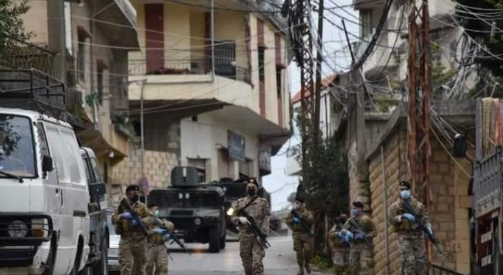 الجيش اللبناني وكوة الأمل