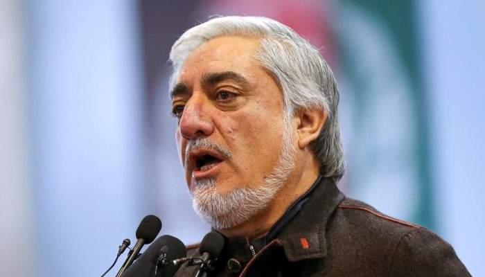 رئيس السلطة التنفيذية بأفغانستان طالب بوقف فرز الأصوات في الانتخابات الرئاسية