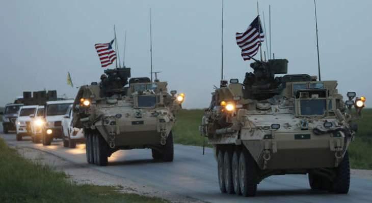 """بوليتيكو"": نحو 900 عسكري أميركي سيبقون في سوريا"