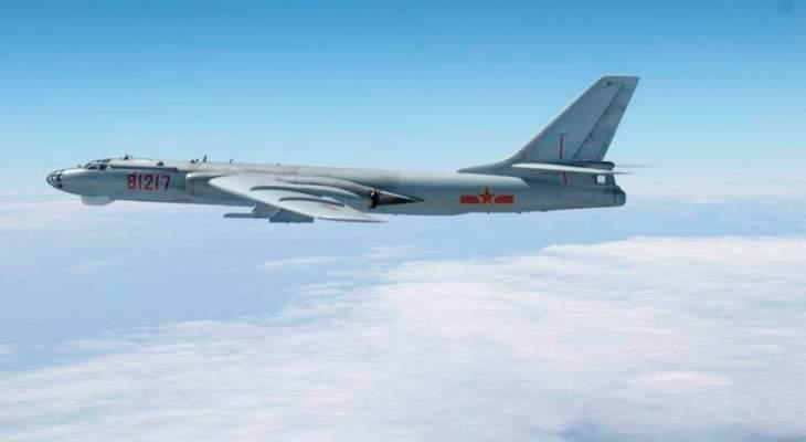 الدفاع التايوانية: 8 طائرات قاذفات قنابل و5 طائرات مقاتلة صينية دخلت مجالنا الجوي