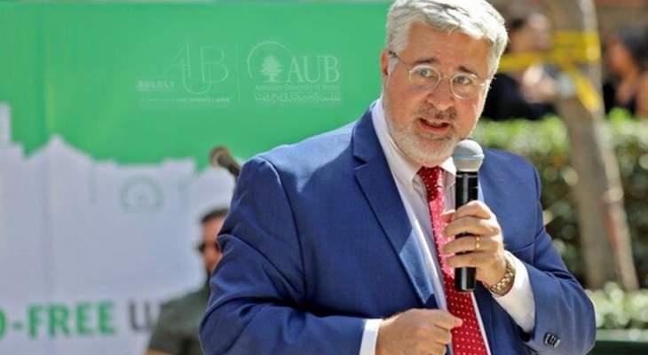 رئيس الجامعة الأميركية في لبنان يصف الحكومة بالأسوأ في تاريخ لبنان