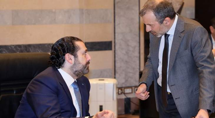 OTV: انتهاء اجتماع الحريري- باسيل بعد 5 ساعات