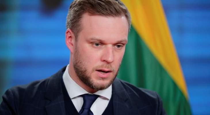 خارجية ليتوانيا: بيلاروس تستخدم المهاجرين كسلاح سياسي وندعو الاتحاد الأوروبي لمعاقبتها